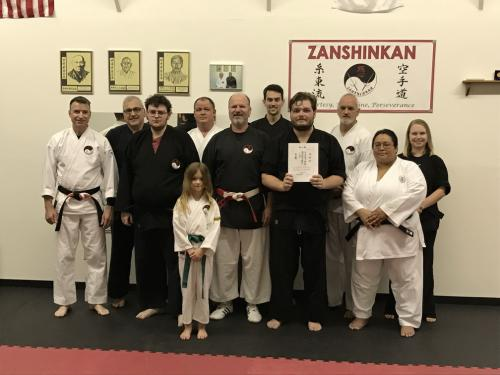 2018 Nidan test Jake